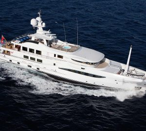 52m Amels superyacht LA MIRAGE offering 20% reduction on West Med charters