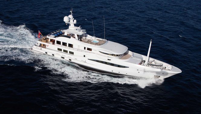 LA MIRAGE superyacht built by Amels