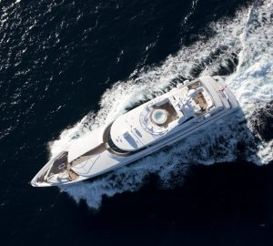 49m superyacht LA TANIA offering 20% discount on West Med charters