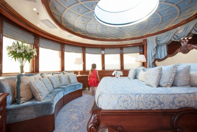 Lavish and spacious master suite with amazing views