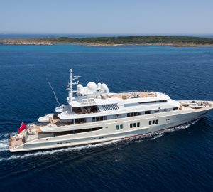 Celebrate Christmas and New Year aboard 73m charter yacht CORAL OCEAN in the Caribbean