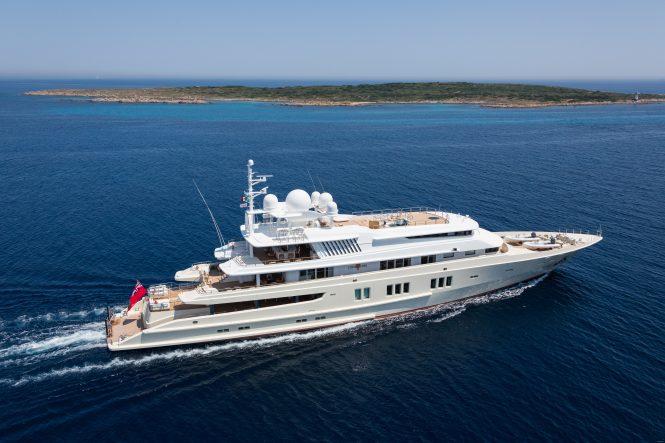 Luxury mega yacht CORAL OCEAN