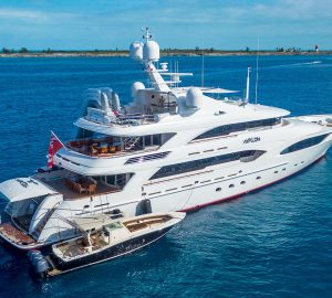 Charter Outstanding 46m Superyacht AVALON in the Caribbean this Winter