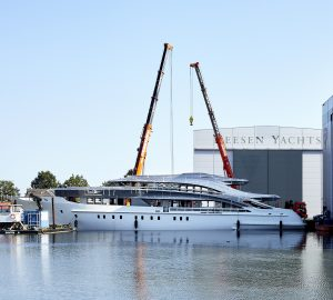 Construction update on HEESEN'S 50m PROJECT TRITON
