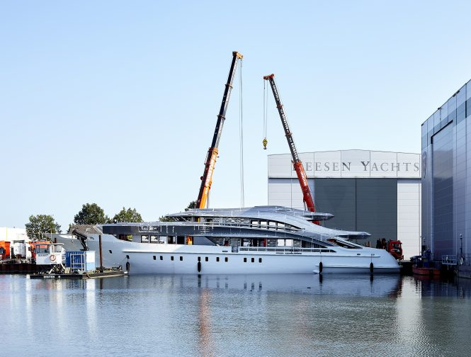 Luxury motor yacht Project Triton by Heesen - Photo by Dick Holthuis