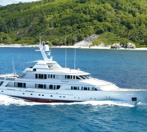 49m superyacht TELEOST ready for Caribbean yacht charters