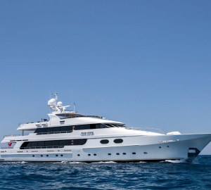 48m superyacht TOP FIVE available for Christmas and New Year in the Bahamas