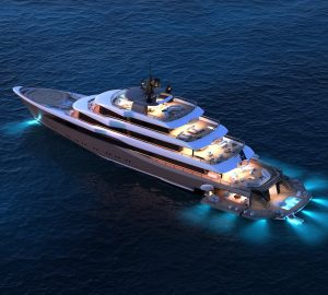 The impressive 70-metre superyacht project MOONFLOWER by Nauta Yachts