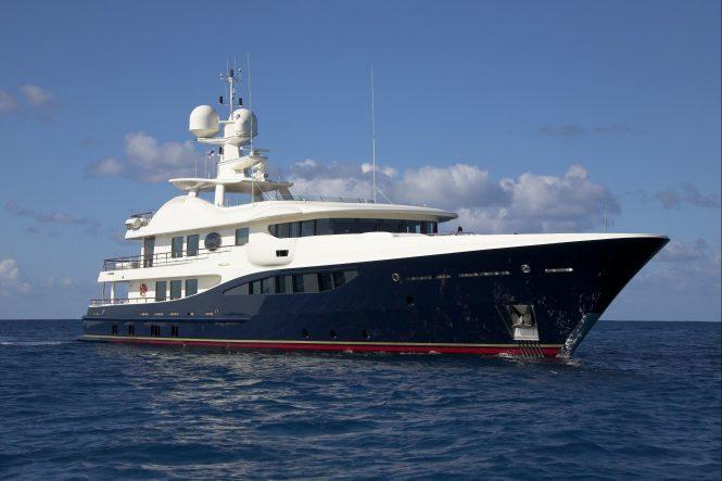 Luxury superyacht DENIKI