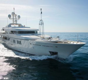 20% Off Charters with 50m Amels superyacht MERCURY in Greece