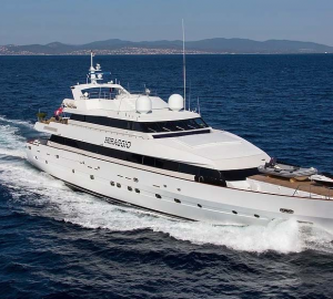 Charter 41m MIRAGGIO superyacht for 8 nights for the price of 7 in the Bahamas