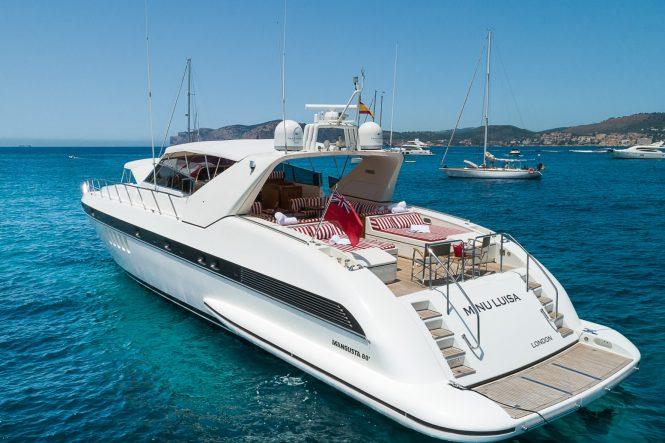 Mangusta Yacht MINU LUISA - Transom view