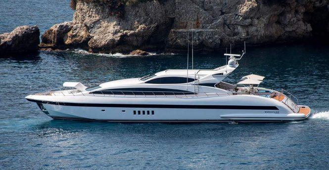 Mangusta yacht ALLURE