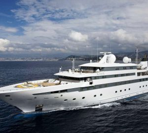 Amazing adventure charter with 90m mega yacht LAUREN L in Patagonia