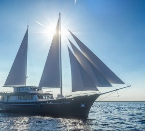 Brand new 48-metre motorsailer yacht CORSARIO available for 2019 Croatia and Adriatic charters