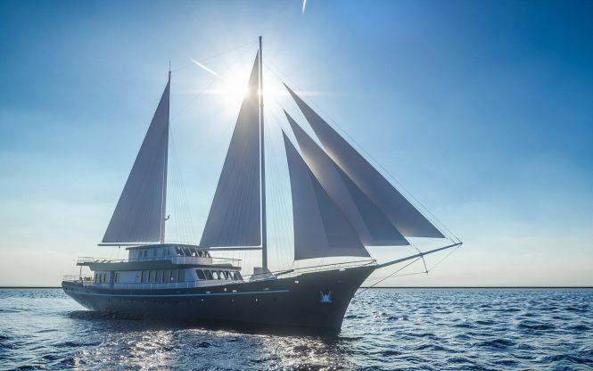 Brand New 48 Metre Motorsailer Yacht Corsario Available