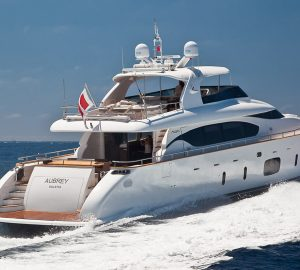 Motor yacht AUBREY offering 20% off South of France vacations