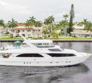 Charter Special '10 days for the price of 7' with Caribbean motor yacht CYNDERELLA