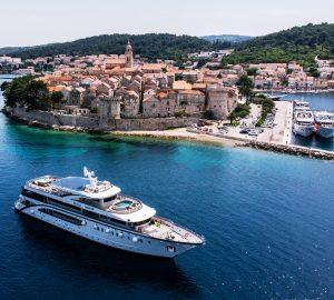 Ultra-luxurious charter yacht DESIRE 2 in-build in Croatia