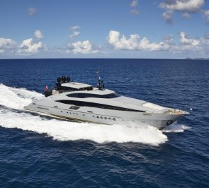 20% Discount offered by 45m GREY MATTERS superyacht in the Bahamas