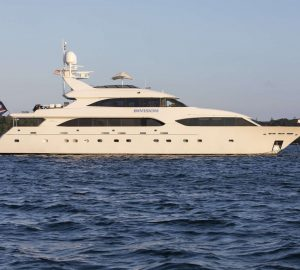 Superyacht INVISION pre-Caribbean charter special in Nassau, Bahamas