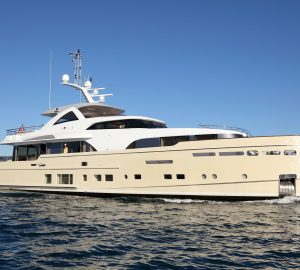 34m SOLIS accepting 7-night Christmas yacht charters in the Caribbean