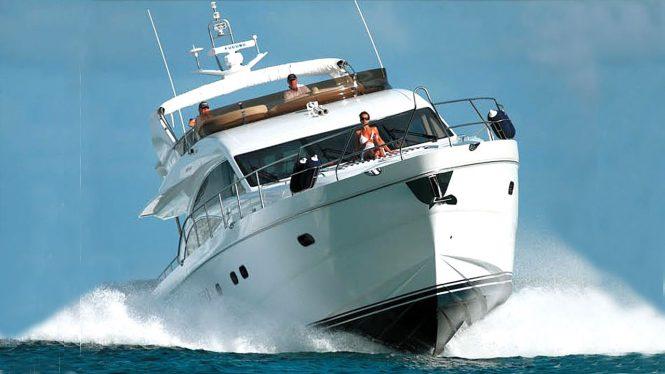 Motor yacht SORANA cruising