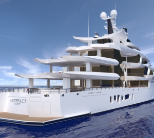 Nobiskrug to launch superyacht Artefact (Project 790) in 2019