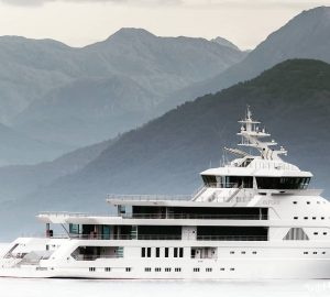 Luxury yacht Olivia O delivered and cruising the Mediterranean