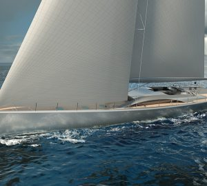 PURA: Royal Huisman's latest 40m/130ft custom sailing yacht concept