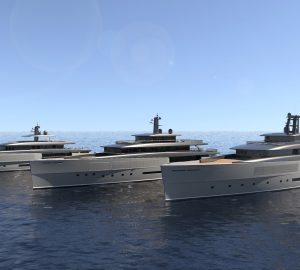 The new Perini Navi Heritage Line penned by Zuccon International Project