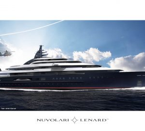 116m mega yacht Project TESTAROSSA to be constructed by Lurssen