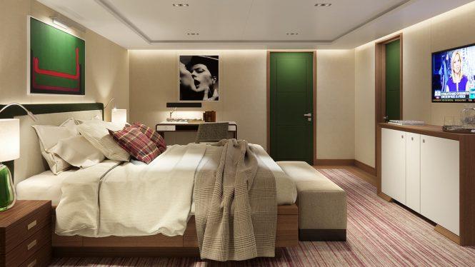Rendering Cabin - by Serim Srl (Alberto Ascenzi) Architects