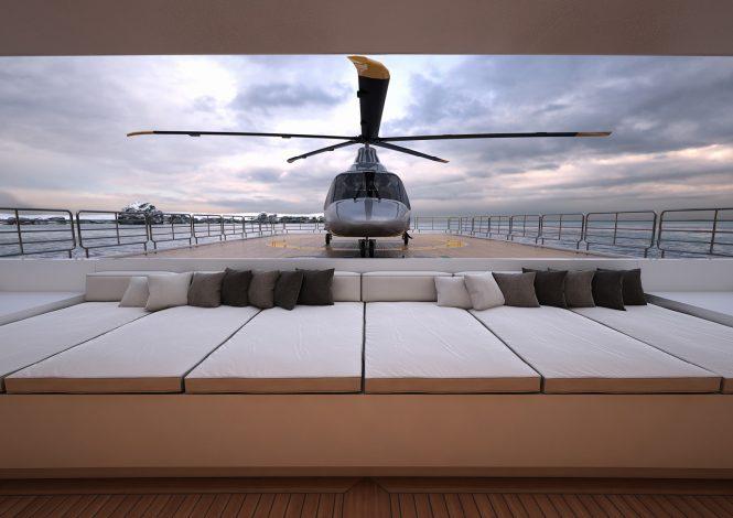 Rendering Helcopter - by Serim Srl (Alberto Ascenzi) Architects