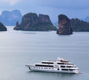 69m Superyacht SALUZI Offering All-Inclusive Charter rate in Maldives or Thailand
