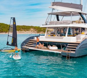 Brand new Lagoon Seventy 7 Catamaran JOY available in the Caribbean this Winter