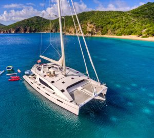 Catamaran yacht ZINGARA offering low-season charter rate in the Caribbean