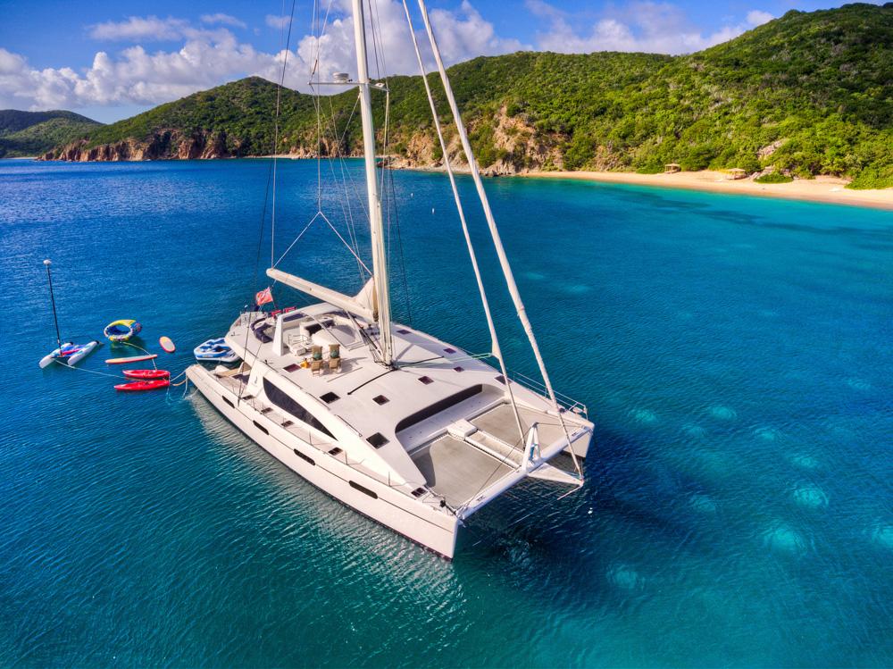 Sailing catamaran yacht ZINGARA
