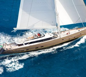 50m sailing yacht OHANA available for Caribbean charter this Winter
