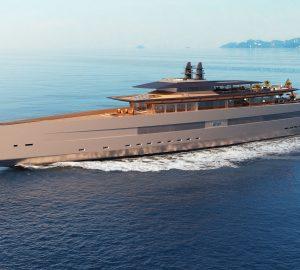 Sinot's mesmerising 115m mega yacht concept 'ART OF LIFE'