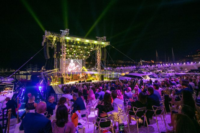 Sting Concert at Yacht Club de Monaco - 2018