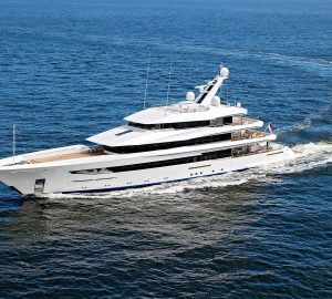 First time in the Caribbean: Exceptional 70m superyacht JOY now available for charter!