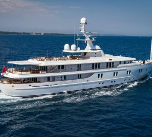 Leeward & Windward Islands Yacht Charter aboard M/Y Katharine