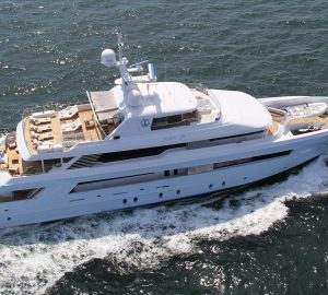 Christmas and New Year charter in the Bahamas with superyacht TIME FOR US