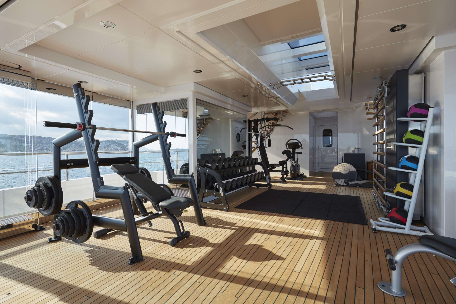 The Gym - Copyright Feadship