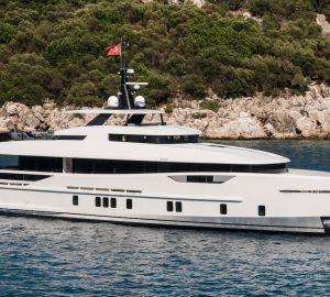 31-metre superyachtVIRGEN DEL MAR VI delivered by Alia Yachts
