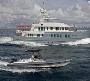 Enjoy Thanksgiving Caribbean Yacht Charter aboard 36m Explorer Yacht ZULU
