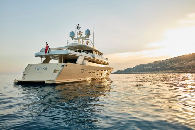 Luxury motor yacht DEVA