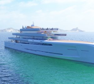 106-metre mega yacht Mirage - The latest concept from Fincantieri Yachts