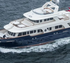 24m explorer yachts ARIZONA and POSEIDON designed by Knud E. Hansen delivered to owners